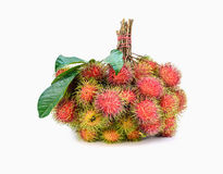 Rambutan fruit,thai fruit favorite stock images