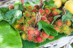 Rambutan fruit, Thailand. Rambutan fruit, best fruit of Thailand Royalty Free Stock Photo
