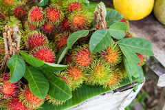 Rambutan fruit, Thailand. Rambutan fruit, best fruit of Thailand Royalty Free Stock Images