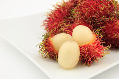 Rambutan Royalty Free Stock Photo