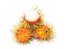 Rambutan fruit on white Stock Image