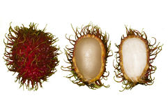 Rambutan fruits Royalty Free Stock Photo