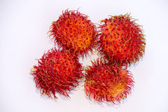 Rambutan fruits from Indonesia Stock Photography