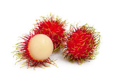 Rambutan fruits Stock Photo
