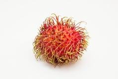 Rambutan. Fruits isolated on white background Stock Photography