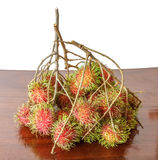 Rambutan groups Royalty Free Stock Photos