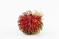 Rambutan. Isolate on white background Stock Photography