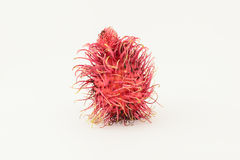 Rambutan isolated. Fresh rambutan isolated on a white background Stock Photos