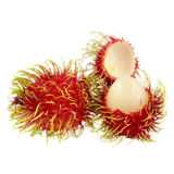 Rambutan isolated on white. It is rambutan isolated on white Royalty Free Stock Images
