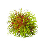 Rambutan isolated on white. Background Royalty Free Stock Images