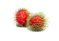 Rambutan isolated on white background . Rambutan isolated on white background Stock Photo