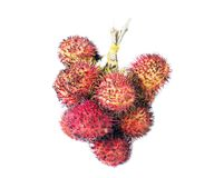 Rambutan isolated on white. Rambutan isolated on the white background Royalty Free Stock Photos