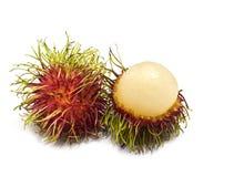Rambutan isolato Immagini Stock