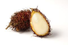 Rambutan lychee stockfotografie