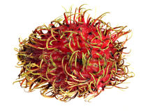 Rambutan macro Royalty Free Stock Photography