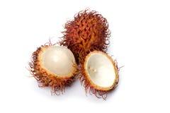 Rambutan macro Stock Images