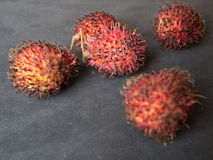 Rambutan Nepehlium-lappaceum Lizenzfreie Stockbilder