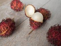 Rambutan Nepehlium-lappaceum Stockfoto
