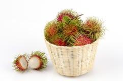 Rambutan (Nephelium lappaceum Linn.). Stock Photography