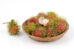 Rambutan (Nephelium lappaceum Linn.). Royalty Free Stock Image