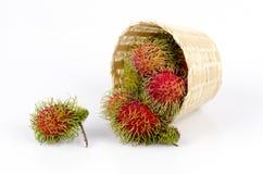 Rambutan (Nephelium lappaceum Linn.). Royalty Free Stock Images
