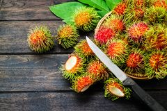 Rambutan NO.08 royalty free stock photography