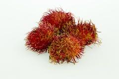 Rambutan - Rambutan för tropiska frukter Fotografering för Bildbyråer