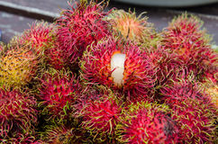 Rambutan. S Many of the stackable Stock Photography