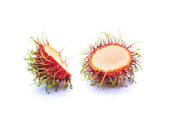 Rambutan schil royalty-vrije stock afbeelding