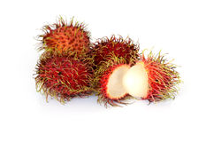 Rambutan stack Stock Photography