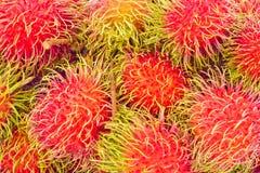 Rambutan sweet delicious on  background healthy rambutan tropical fruit food  Royalty Free Stock Photography
