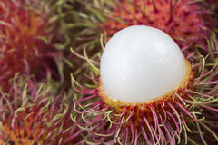 Rambutan sweet Royalty Free Stock Image