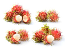 Rambutan sweet delicious fruit of Thailand. Fresh rambutan sweet delicious fruit of Thailand Royalty Free Stock Photography