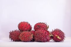 Rambutan sweet delicious fruit royalty free stock images