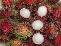 Rambutan sweet delicious  Thai fruit Royalty Free Stock Images