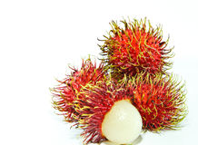 Rambutan. Sweet rambutan season in Thailand Royalty Free Stock Images