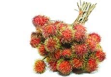 Rambutan. Sweet rambutan season in Thailand Royalty Free Stock Photography