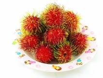 Rambutan tailandese. Immagini Stock