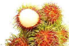 Rambutan in Tailandia Fotografie Stock