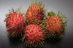 Rambutan Stock Photo