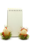 Rambutan with white board Royalty Free Stock Images