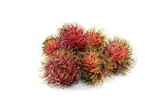 Rambutanen är en frukt Royaltyfria Bilder