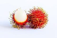 Rambutanen från Thailand Royaltyfria Bilder