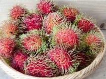 Rambutanfrucht Lizenzfreie Stockfotos