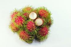 Rambutanfrukt Royaltyfria Bilder