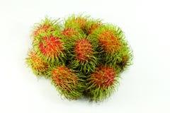 Rambutanfrukt Arkivbild