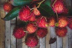 RambutanNepheliumlappaceum Royaltyfri Fotografi