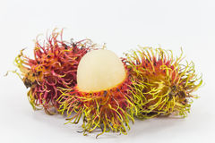 Rambutans, fruto tailandês delicioso Imagem de Stock