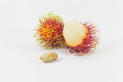 Rambutans, Thai fruit delicious. Royalty Free Stock Photography