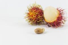 Rambutans, Thais heerlijk fruit Royalty-vrije Stock Afbeelding